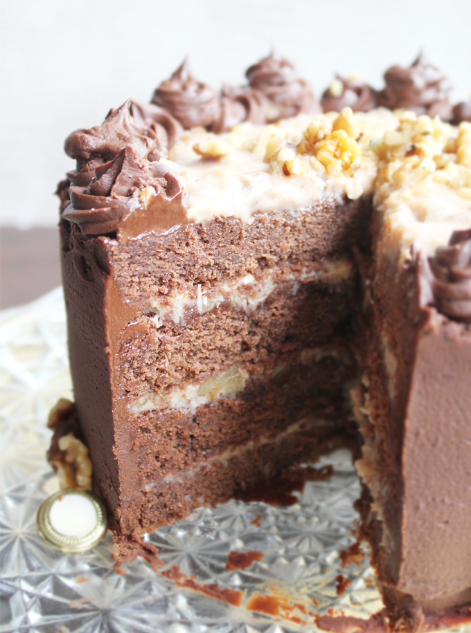 German Chocolate Cake_Opened