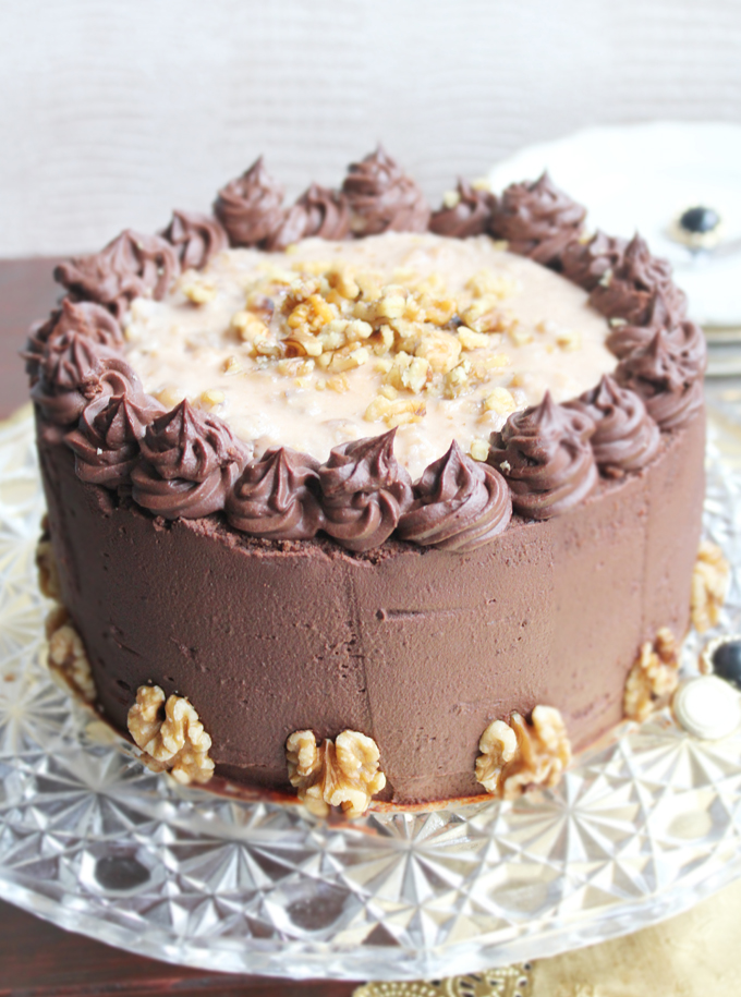 German Chocolate Cake_Whole