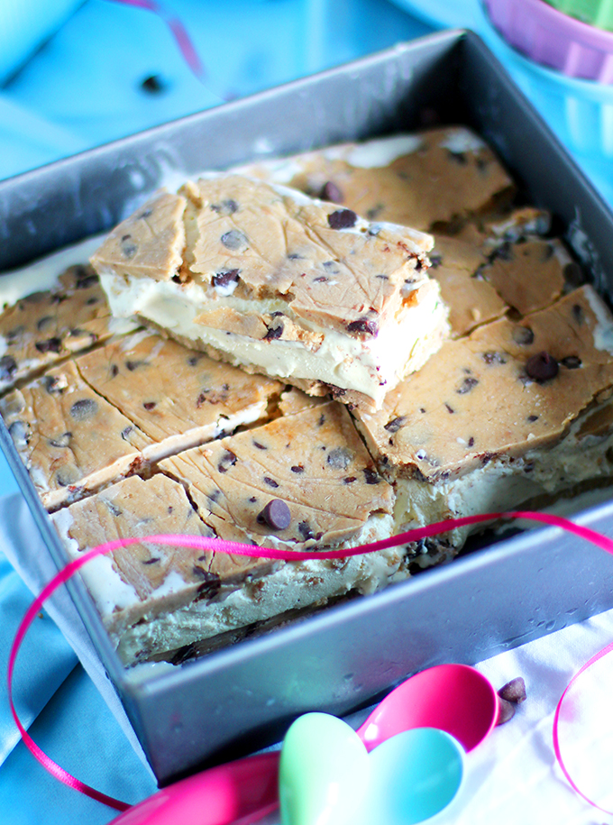 Cookie Dough Ice Cream Sandwiches_In Form