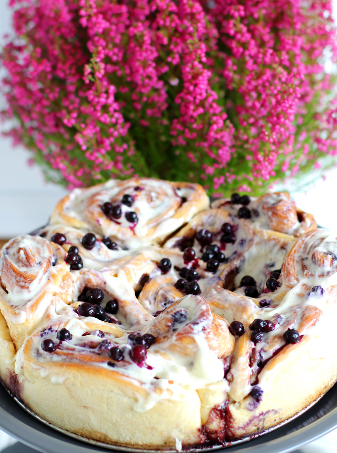 Cinnabon_Close up Blumen