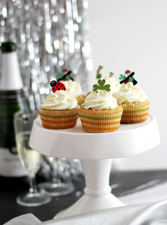 Champagner Cupcakes_Glück