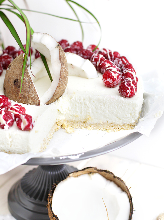 Kokos Cheesecake_Close up