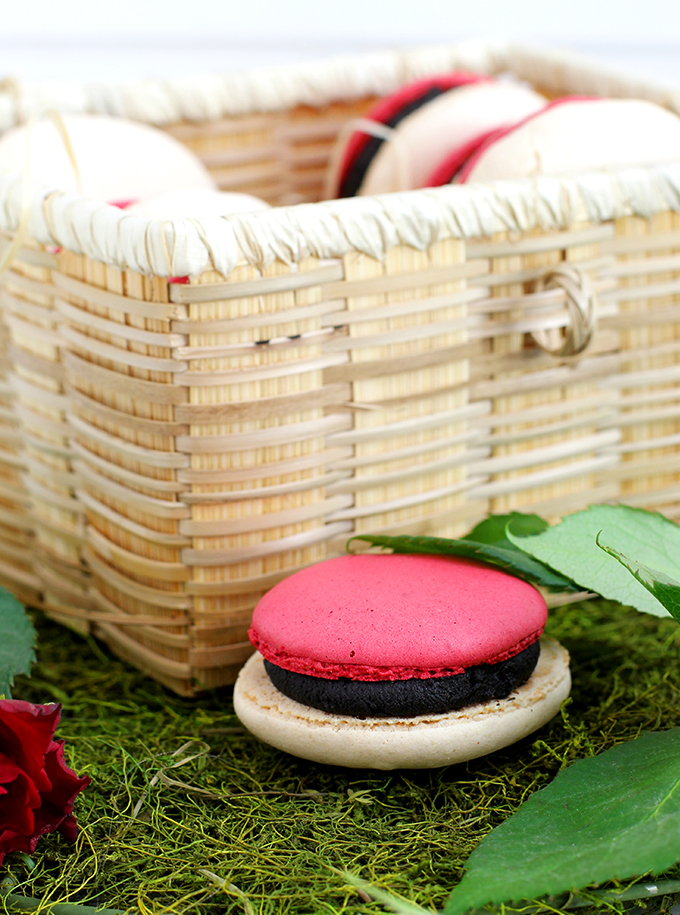 Pokeball Macarons_Close up
