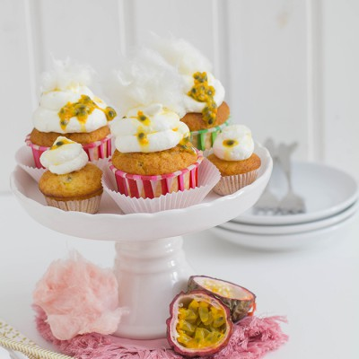 Cotton Candy Cupcakes 2.0 [RE°CREATE Blogevent]