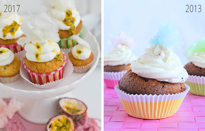 Cotton Candy Cupcakes II_Vergleich