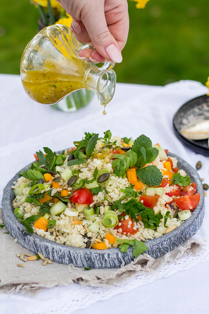 Bulgur Salat_Dressing