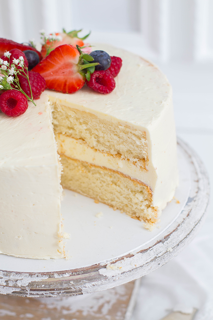 White Cake_Anschnitt Close Up