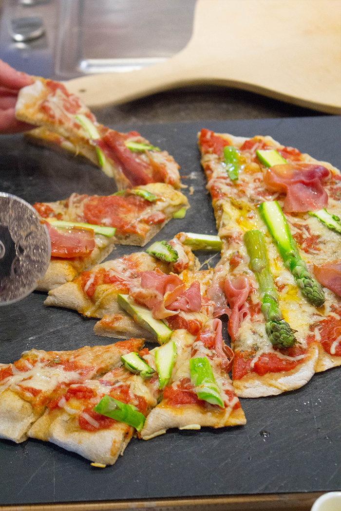 Del Monte Grillen_Pizza Close up