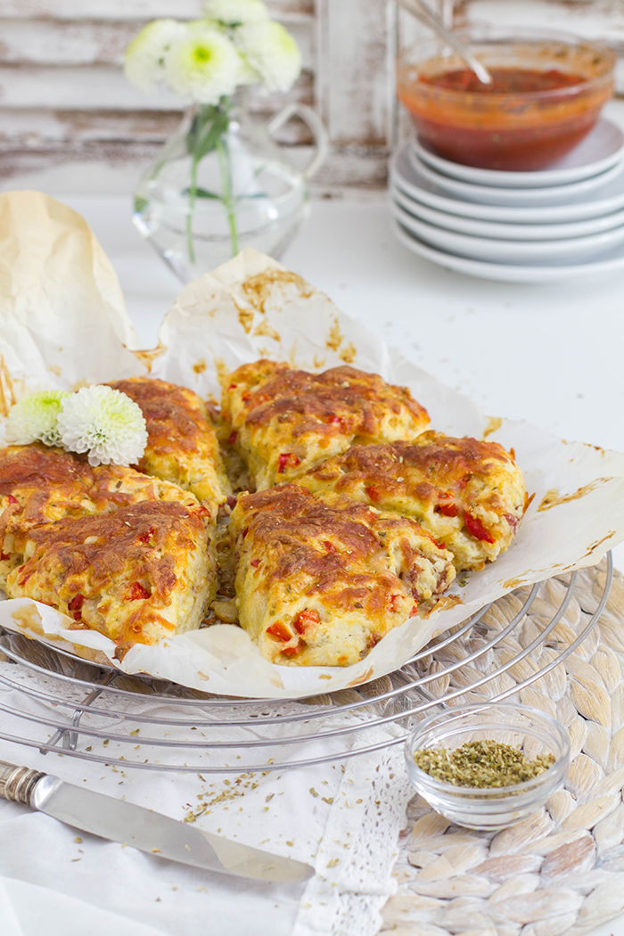 Pizza Scones_Aus der Form