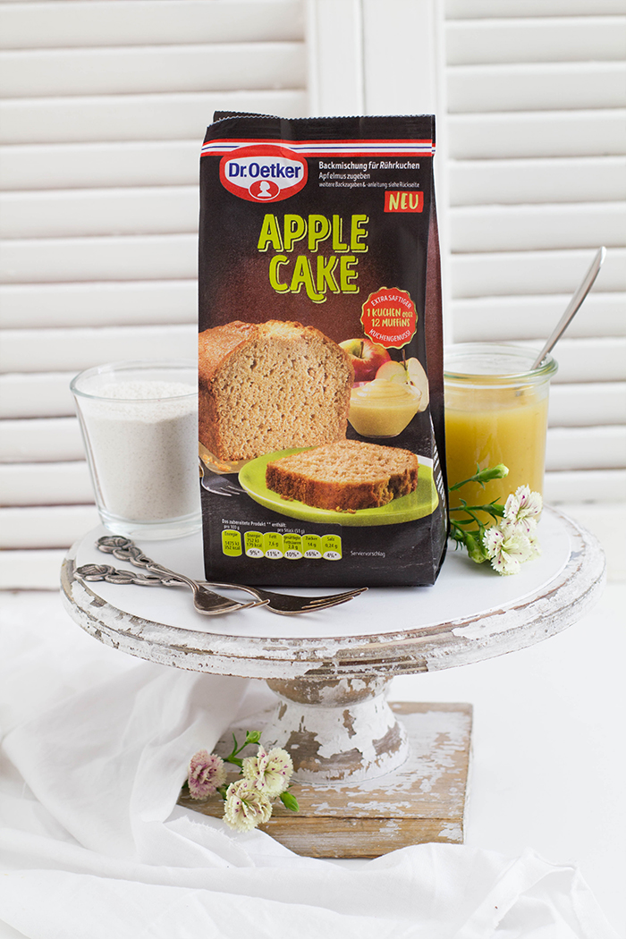 Dr Oetker Coffee Cakes_Apple Cake Packung